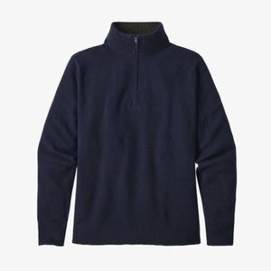 Patagonia Recycled Cashmere 1/4 Pullover Sweater